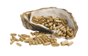 Oyster extract capsules are whole food zinc supplement boosts immune system and sexual health